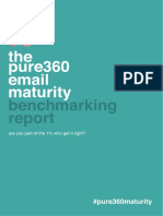 Pure360 Email Maturity Benchmarking Report 2015