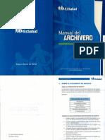 Manual del Archivero