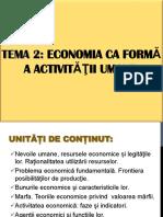 TEMA 2. Economia CA Formă a Activității Umane_1