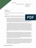 Pamela Webb Research Compliance Office Response to Carl Elliott Regarding Robert Huber and Bifeprunox Study