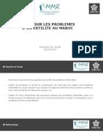 Résultat Enquete Semaine Nationale SMMR 2015