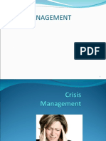 Crisis Management Ppt