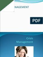 Crisis Management Ppt