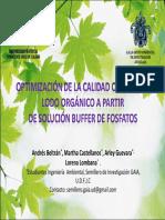 Optimizacion Quimica de Lodo Organico