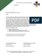 Carta Motivacional para Asesores(as) Misión Navyl 2016