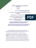 El Procedimiento Administrativo en Materia Aduanera