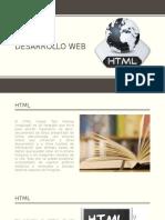 Desarrollo Web HTML