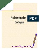 six sigma management operations strategy