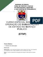 Apostila de Embarcação ETSP