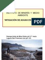 Cap 7 Mitigación de Aguas UNI FIGMM Mineria y Medio Ambiente