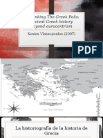 Unthinking the Greek Polis