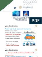 Voto Electronico Colegio de Abogados de Lima