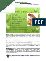 Guía Presentación de Trabajos Escritos La Salle Primaria