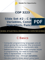 packet 2-16 - variables and operators
