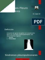 3. Síndromes pleuropulmonares