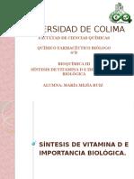 Síntesis de Vitamina D