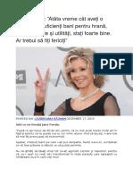 Jane Fonda Sfaturi