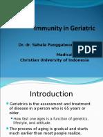 12. Dr. Sahala - Lecture Penurunan Imunitas Pada Geriatri Nov2013