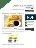 Ceai de Banane – Somnifer Natural _ La Taifas