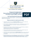 Financial Aid Study Abroad Info Flyer