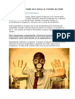 4 Moduri Prin Care Afli Daca Ai Toxine in Corp