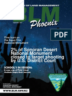 BLM Phoenix District Office - Sept 2015 newsletter
