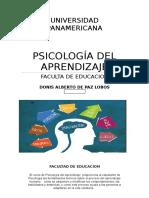 Psicologia Del Aprendizaje