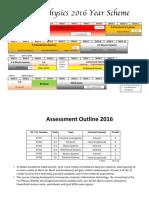 y13 course outline 2016