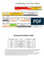 y13 course outline schol 2016