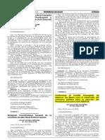 Resolucion Suprema N° 022-2016-PCM