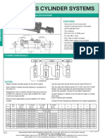 Prince Hydraulics - Series Cylinder Systems-3000 PSI Offered by PRC Industrial Supply