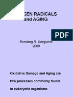 Oxygen Radicals & Aging