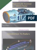 (AESA) Active Electronic Scanned Array Radar
