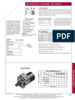 Prince Hydraulics - ADM Series Gerotor Motor - Low Speed, High Torque Offered by PRC Industrial Supply
