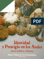 Identidad y Prestigio en Los Andes