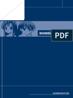 Schooldays Usermanual