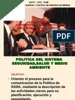 9. Politica de Seguridad