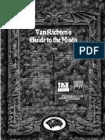 D&D 3.5 Ravenloft - Van Richten's Guide to the Mists
