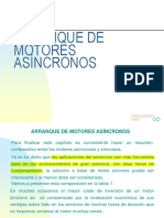 Arranque de Motores Asíncronos