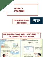 Cloración y Desinfección 2015