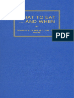What to Eat and When - Stanley K Clark
