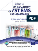 QMS for Laboratories Testing and Calibration ISO 17025