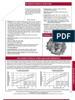 Prince Hydraulics - SP Series Hydraulic Single Gear Pumps Offered by PRC Industrial Supply