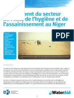 Niger the Financing of the Water Sanitation and Hygiene Sector English