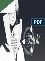 Itachi in Black and White 1