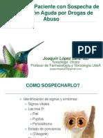 Toxicologia Intoxicaciónpordrogas Joaquinlopez