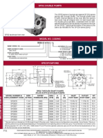 Prince Hydraulics - SPD2 Series Hydraulic Double Gear Pumps Offered by PRC Industrial Supply
