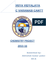 Chemistry Project Class 12