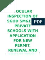 SGOD SM&E Annual Report