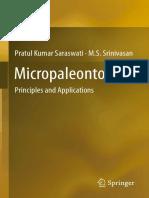 Micropaleontology, Principles and Applications [P.K. Saraswati, M.S. Srinivasan, 2016] @Geo Pedia
